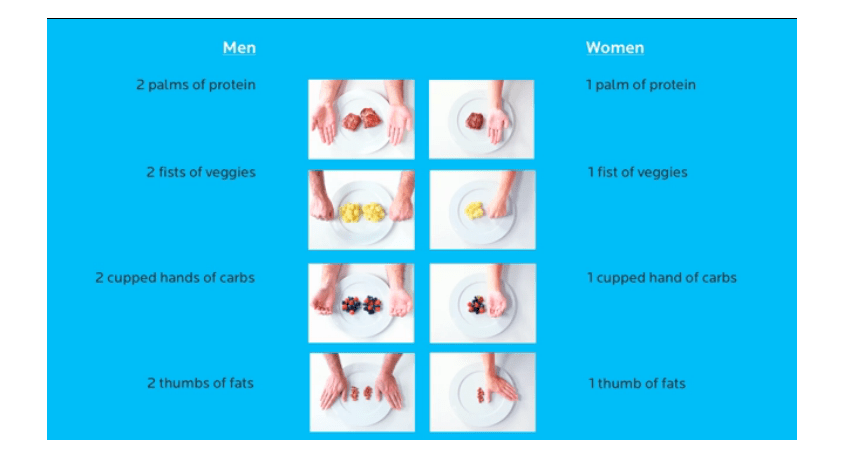 Hand-Portion-Guide